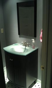 172 Bathroom remodel completed in Chesterfield 2-16-12